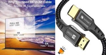 oferta ivanky cable hdmi 8k barato SuperChollos