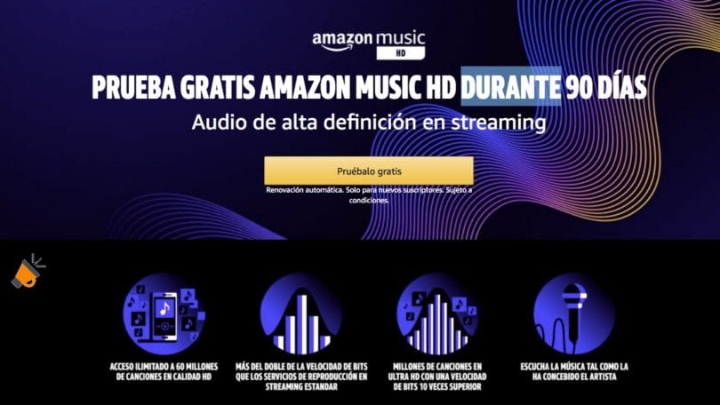Amazon Music HD gratis SuperChollos