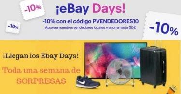 ebay days SuperChollos