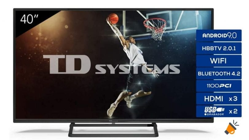 oferta TD Systems K40DLX11FS smart tv barata SuperChollos
