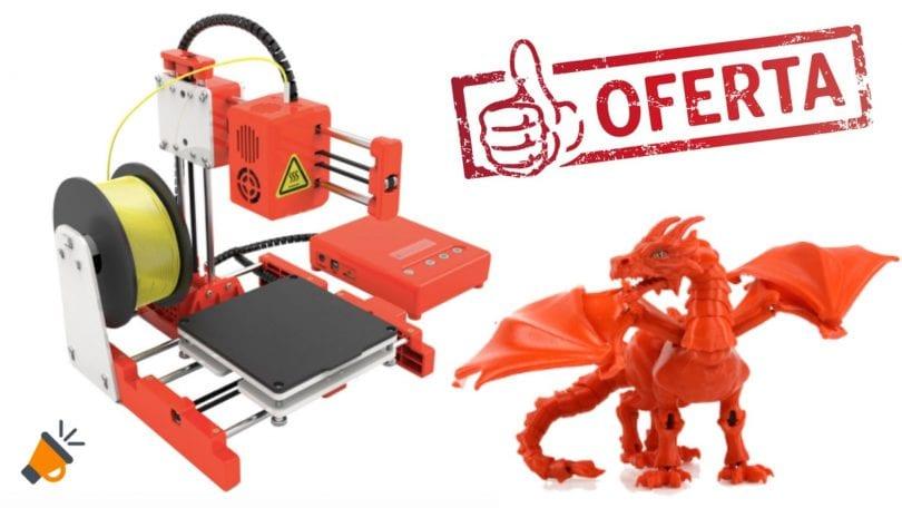 oferta Mini impresora 3D EasyThreed barata SuperChollos