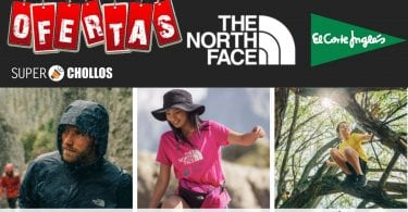 oferta corte ingles ropa the north face barata SuperChollos
