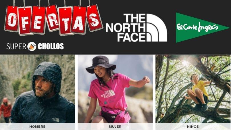 oferta corte ingles ropa the north face barata SuperChollos