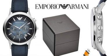 oferta Reloj crono%CC%81grafo Emporio Armani barato SuperChollos