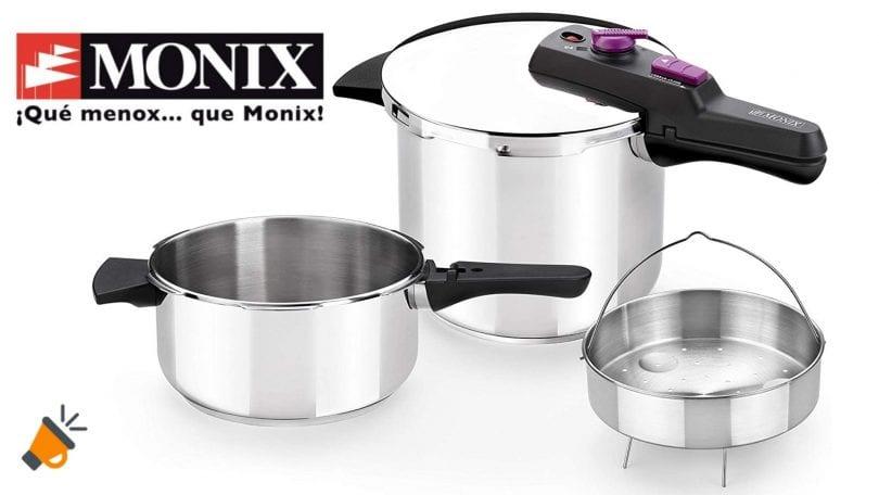 oferta Monix Tempo Duo ollas baratas SuperChollos
