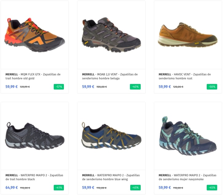 Outlet Merrell2 SuperChollos