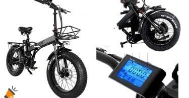 oferta Cmacewheel GW20 bicicleta electrica barata SuperChollos