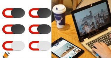oferta Tapas webcam Kiwi Design baratas SuperChollos