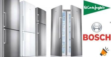 corte ingles frigorificos bosch baratos SuperChollos