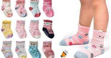 oferta calcetines antideslizantes bebe baratos SuperChollos