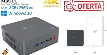 oferta Beelink U55 Mini PC barato SuperChollos
