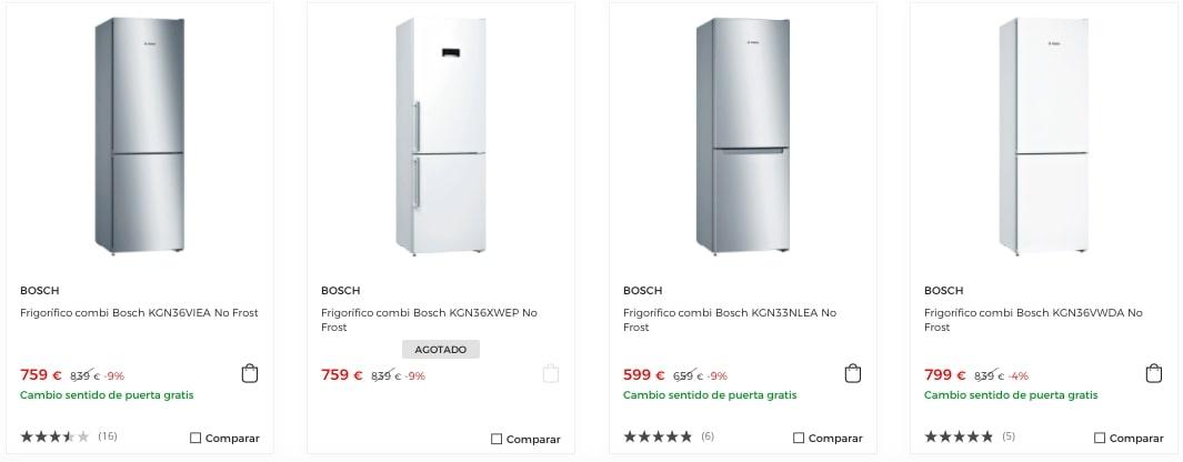 Frigori%CC%81ficos Bosch baratos en El Corte Ingle%CC%81s2 2 SuperChollos