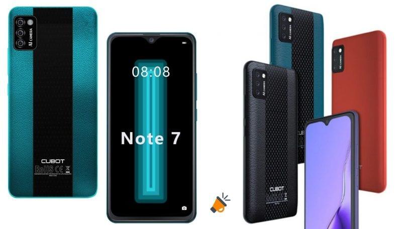 oferta CUBOT Note 7 barato SuperChollos