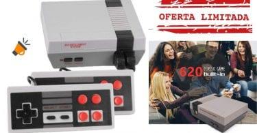 oferta Consola Estilo NES barata SuperChollos