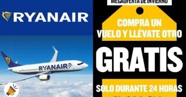 promo vuelos ryanair gratis SuperChollos