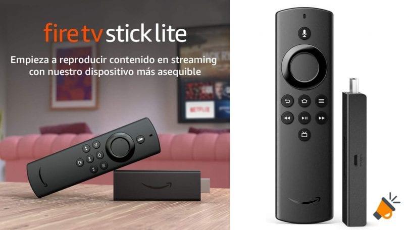 oferta Fire TV Stick Lite barato SuperChollos