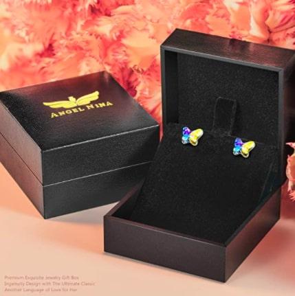 Pendientes con Cristal de Swarovski baratos SuperChollos