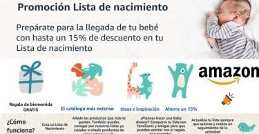 amazon Lista de Nacimiento SuperChollos