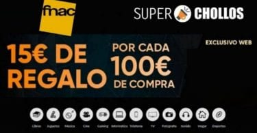 cheque regalo fnac SuperChollos