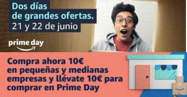 10 euros gratis amazon prime day SuperChollos
