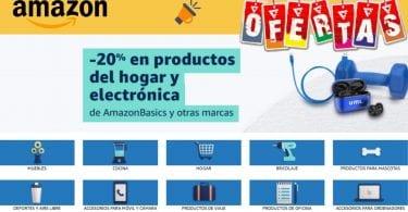 oferta productos AmazonBasics baratos SuperChollos