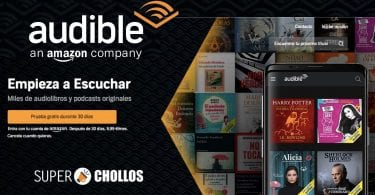 Audible Espan%CC%83a GRATIS SuperChollos
