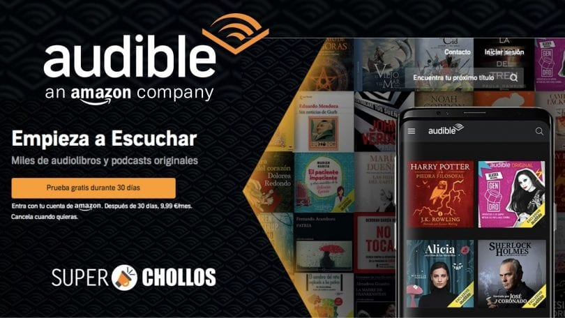 Audible Espan%CC%83a GRATIS SuperChollos