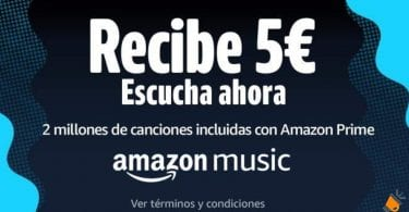 oferta amazon music 5 euros gratis SuperChollos