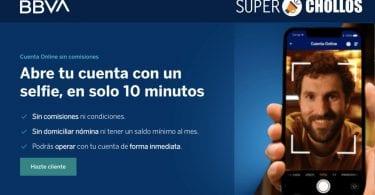Cuenta Online Sin Comisiones bbva SuperChollos
