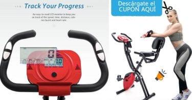 oferta Merax X Bike bicicleta estatica barata SuperChollos