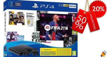 oferta PS4 500GB FIFA 21 barato SuperChollos