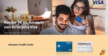 tarjeta VISA Amazon SuperChollos