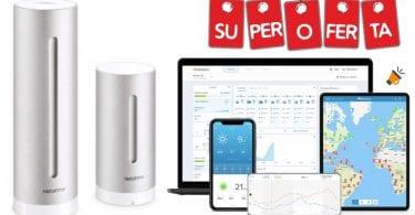 oferta Estacio%CC%81n Meteorolo%CC%81gica Netatmo barata SuperChollos