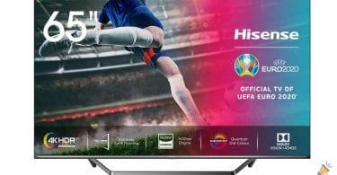 oferta hisense 65U71QF smart tv barata SuperChollos