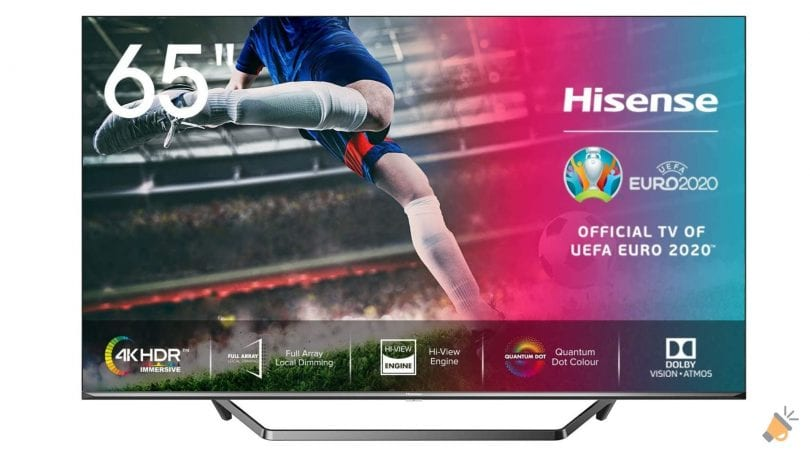 oferta hisense 65U71QF smart tv barata SuperChollos