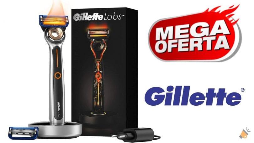 oferta Gillette Labs Heated Razor barata SuperChollos