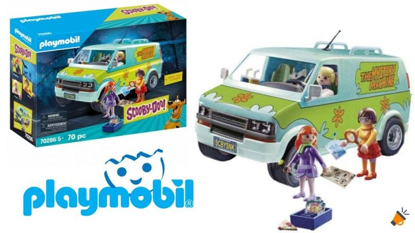oferta playmobil furgoneta scooby doo barata SuperChollos