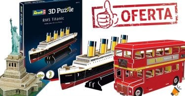 OFERTA puzzles 3d Revell baratos SuperChollos
