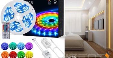 oferta Tiras LED OUSFOT baratas SuperChollos