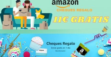 cheques regalo amazon gratis SuperChollos