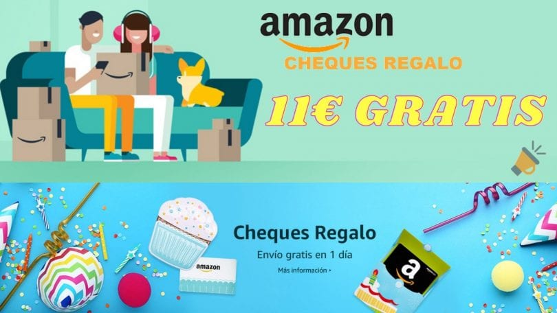 cheques regalo amazon gratis SuperChollos