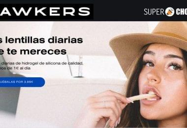 oferta lentillas de Hawkers baratas SuperChollos