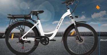 oferta ANCHEER Bicicleta Ele%CC%81ctrica barata SuperChollos