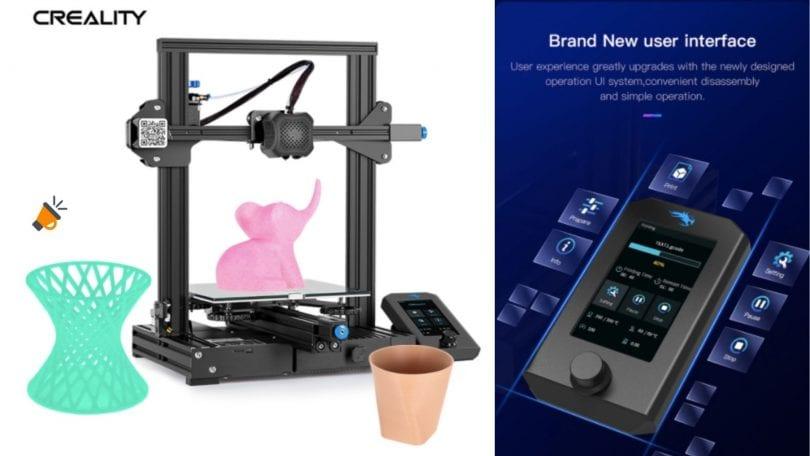 oferta Impresora Creality 3D Ender 3 V2 barata SuperChollos
