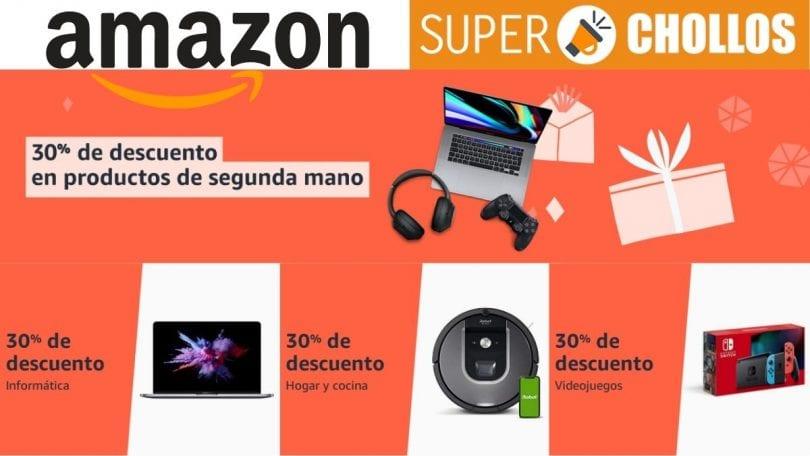 Amazon Reacondicionados 30 descuento black friday 2020 superchollos SuperChollos