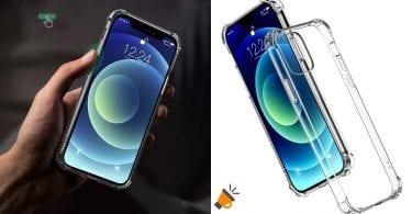 oferta funda silicona iphone 12 barata SuperChollos