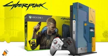 oferta Xbox One X 1TB edicio%CC%81n Cyberpunk 2077 barata SuperChollos
