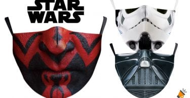 oferta Mascarillas Star Wars baratas SuperChollos
