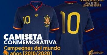 oferta Camiseta oficial conmemorativa Mundial Suda%CC%81frica 2010 barata SuperChollos
