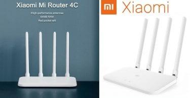oferta Xiaomi router 4C barato SuperChollos